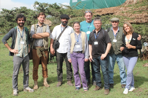European delegates at the Kiseriang Global Gathering