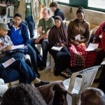 During a workshop at the Kiseriang Global Gathering